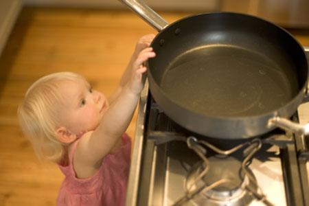 8 impensados peligros domésticos para los niños