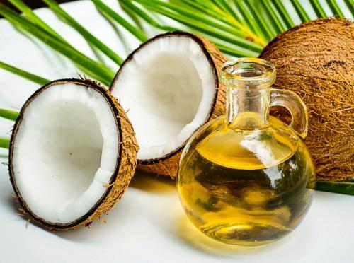 Aceite de coco para la belleza de la piel, el rostro y el cabello