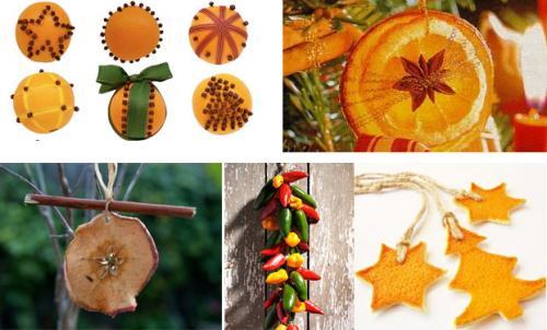 Adornos de navidad con frutas remedios - Adornos para arbol de navidad caseros ...