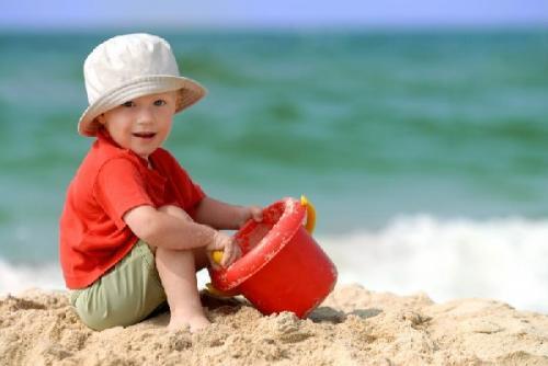 Cómo proteger de forma natural la piel de los niños en verano