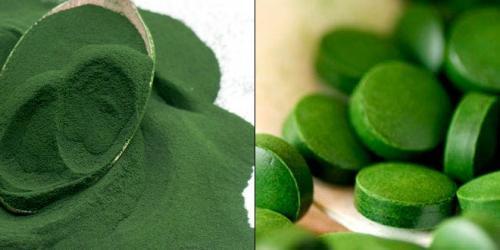 Con las algas, dígale adiós a las manchas de la piel!