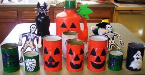 Reciclados decorativos para Halloween