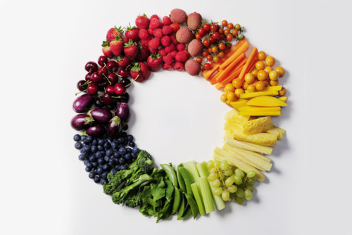 Dieta de los colores ¿Alimentos rojos, verdes, blancos o azules?